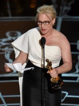 Arquette at the Oscars.